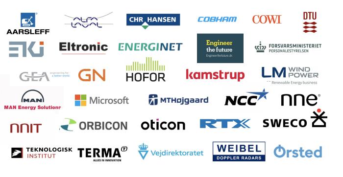 Logo for deltagende virksomheder